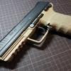 【東京マルイ 電動HK45】ロングバレル化カスタムで初速が大幅アップしました