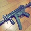 【東京マルイ 電動MP5K】MP5K PDWハイサイ&電子トリガー化カスタム