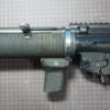 【東京マルイ 電動MP5】SD6フォアグリップ取付けとハンドガードピン脱落防止加工を行