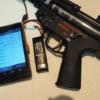 【東京マルイ MP5】スマートフォンで操作が可能な電子トリガー BTC Spectre Mk2を搭載