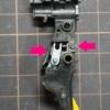 【東京マルイ 電動グロック】タクトスイッチによるショートトリガー加工を行いました